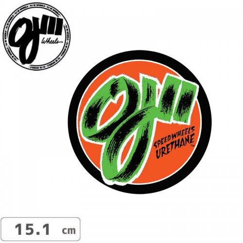 【オージェイ OJ3 スケボー ステッカー】DECAL STICKER【15.1cm x 15.1cm】NO16