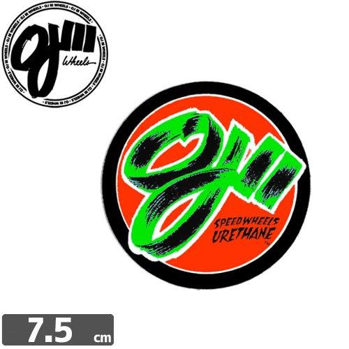 【オージェイ OJ3 スケボー ステッカー】DECAL STICKER【7.5cm x 7.5cm】NO17