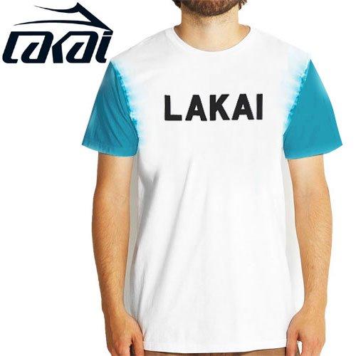 【LAKAI LIMITED FOOTWEAR ラカイ Tシャツ】SLOANE DYED TEE【ホワイト】NO29