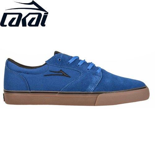 【LAKAI LIMITED FOOTWEAR ラカイ スケート シューズ】FURA SHOES スウェード【ブルー】NO71