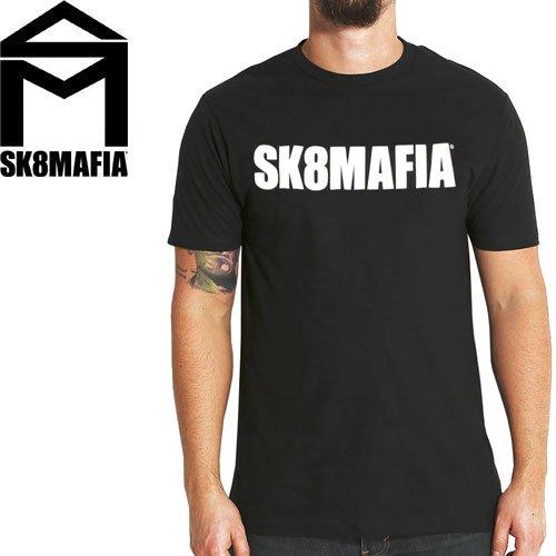 【スケートマフィア SK8MAFIA スケボー Tシャツ】SKATEMAFIA OG LOGO PREMIUM TEE【ブラック】NO65