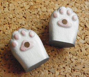 猫の手パムッとマグネット【サバトラ】
