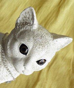 プランター【おすまし白猫】