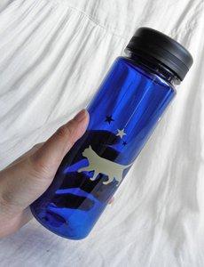 500mlウォーターボトル【猫たちの真夜中散歩】ブルー