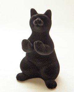 もけもけ黒猫さんの眼鏡スタンド