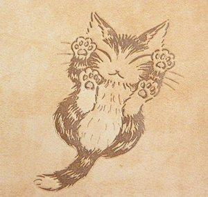 猫のダヤンにゃんキューラウンド財布