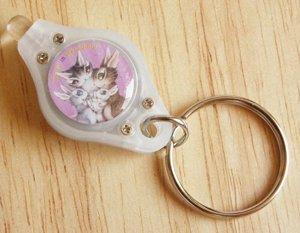 猫のダヤンのLEDキーライト【うさぎの赤ちゃん】