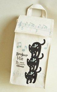 レジ袋ストッカー【黒猫ブレーメン】音楽