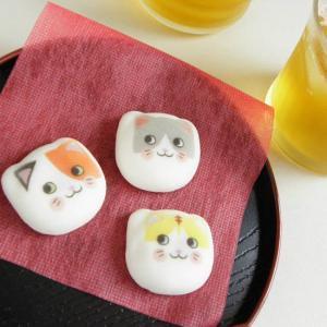 ふにっと和風マシュマロ【猫ならべ】3個入り