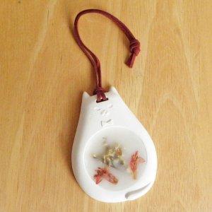 ハンギングアロマワックス【フローラルキャット】桜とローズの香り