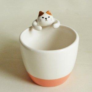 ギュッとマグカップ【三毛猫】
