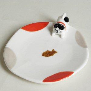 おやつのとりこ皿  【ハチワレ猫】