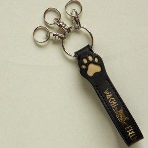 猫のダヤン猫手ベルトキー【黒】