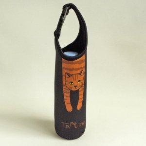 ぴったん猫のボトルホルダー【茶トラ猫】