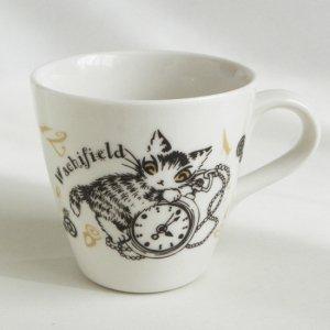 猫のダヤン マグカップ【時計】