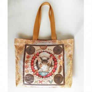 猫のダヤン デイリートートバッグ【お菓子のまんだら】