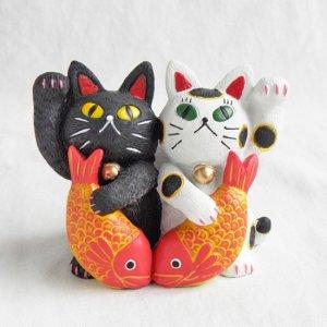 糸井 忠晴  招き猫の置物【Mサイズ】