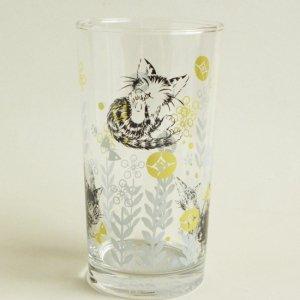 猫のダヤン 酎ハイグラス【さわってダヤン】