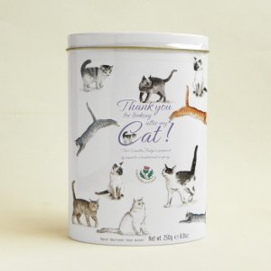 猫柄SWEETS缶【バニラファッジ】