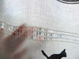 猫柄カフェカーテン【まったり猫ライフ】