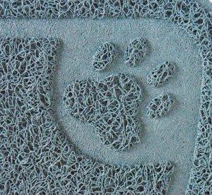 猫ちゃんの砂取りマット【ブルー】