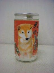 大山 特別純米酒カップ  犬180ml