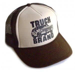 トラックブランド(Truck Brand)TUFFカー柄メッシュキャップ/ブラウン<img class='new_mark_img2' src='https://img.shop-pro.jp/img/new/icons16.gif' style='border:none;display:inline;margin:0px;padding:0px;width:auto;' />