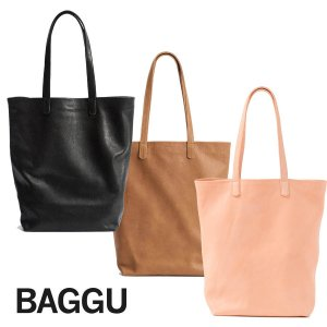 BAGGU(バグゥ)本革レザートートバッグ/LEATHER TOTE/バグー<img class='new_mark_img2' src='https://img.shop-pro.jp/img/new/icons16.gif' style='border:none;display:inline;margin:0px;padding:0px;width:auto;' />