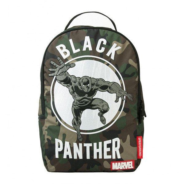 クリアランス/スプレーグラウンド(Sprayground)ブラックパンサー マーベル・コミックコラボリュックサック/Marvel Black Panther Backpa…