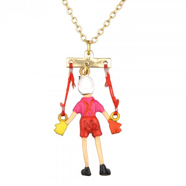 Les Nereides N2(レネレイド エヌドゥ)ピノキオのパペット ペンダントネックレス