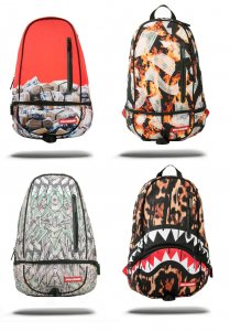 スプレーグラウンド(Sprayground)DLXXバックパック/リュックサック/RED MONEY/RAINING FIRE MONEY/ORIGAMI MONEY/LEOPARD DRIPS