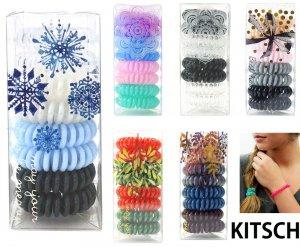 Kitsch(キッチュ)スプリングヘアゴム8本セット/ヘアアクセサリー/ヘアゴム/ボックス付き/Hair Coils