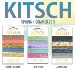 Kitsch(キッチュ)ヘアゴム/ヘアアクセサリー5本セット/ブレスレット/Secret Garden/Sea Vibes/Astrology/Hair Ties<img class='new_mark_img2' src='//img.shop-pro.jp/img/new/icons16.gif' style='border:none;display:inline;margin:0px;padding:0px;width:auto;' />