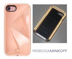 クリアランス/レベッカミンコフ(Rebecca Minkoff)光るLED iPhone6、7、8ケース/ミラーローズゴールド/iPhone6<img class='new_mark_img2' src='https://img.shop-pro.jp/img/new/icons16.gif' style='border:none;display:inline;margin:0px;padding:0px;width:auto;' />