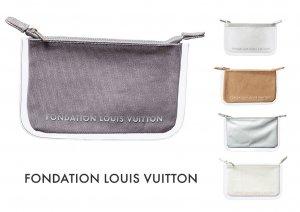 パリ限定!LOUIS VUITTON/ルイヴィトン美術館/ポーチ/クラッチバッグ/コインケース/FONDATION LOUIS VUITTON