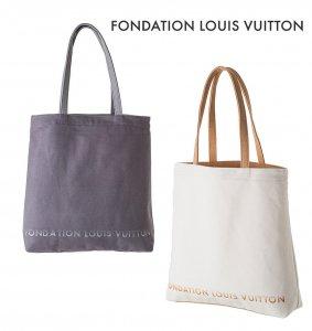 パリ限定!LOUIS VUITTON/ルイヴィトン美術館/トートバッグ/FONDATION LOUIS VUITTON
