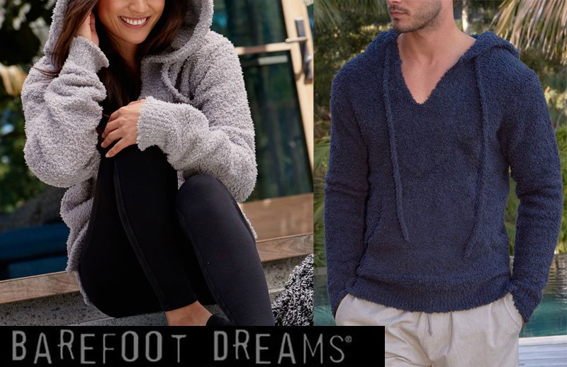ベアフットドリームス(Barefoot Dreams)パーカー レディース、メンズ兼用/バハフーディ/プルオーバー/Cozychic Adult Baja Hood…