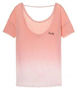ヴィクトリアシークレットPINK(VictoriasSecretPINK)レディースTシャツ/ピンクグラデーション/Super Soft Open Back Tee