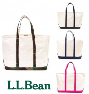 L.L.Bean(エルエルビーン)トートバッグLサイズ/キャンバストートバッグ/Boat and Tote Bag Large<img class='new_mark_img2' src='//img.shop-pro.jp/img/new/icons16.gif' style='border:none;display:inline;margin:0px;padding:0px;width:auto;' />