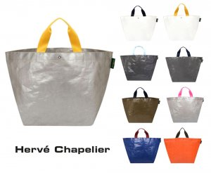 Herve Chapelier(エルベシャプリエ)2013PP ビーチバッグXL/トートバッグ/マルシェバッグ<img class='new_mark_img2' src='https://img.shop-pro.jp/img/new/icons16.gif' style='border:none;display:inline;margin:0px;padding:0px;width:auto;' />