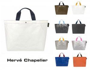 Herve Chapelier(エルベシャプリエ)2014PP マルシェバッグM/トートバッグ/ビーチバッグ<img class='new_mark_img2' src='//img.shop-pro.jp/img/new/icons29.gif' style='border:none;display:inline;margin:0px;padding:0px;width:auto;' />