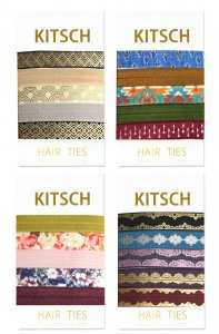Kitsch(キッチュ)ヘアゴム/ヘアアクセサリー5本セット/ブレスレット/GATSBY/SANTA FE/FLORAL/VERSAILLES/Hair Ties<img class='new_mark_img2' src='https://img.shop-pro.jp/img/new/icons16.gif' style='border:none;display:inline;margin:0px;padding:0px;width:auto;' />