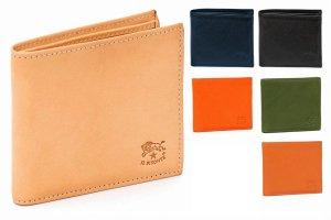 イルビゾンテ(Il Bisonte)レザー二つ折り財布/メンズ/Man's Bi-Fold Wallet in Cowhide Leather C0487<img class='new_mark_img2' src='https://img.shop-pro.jp/img/new/icons16.gif' style='border:none;display:inline;margin:0px;padding:0px;width:auto;' />