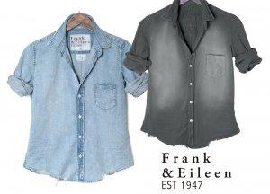 クリアランス/Frank&Eileen(フランク&アイリーン)BARRYバリー イタリアンインディゴデニムコットン長袖シャツ/EXDW LIMITED/レディースシャツ/ロンハーマン<img class='new_mark_img2' src='https://img.shop-pro.jp/img/new/icons16.gif' style='border:none;display:inline;margin:0px;padding:0px;width:auto;' />