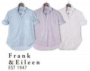 Frank&Eileen(フランク&アイリーン)EILEENアイリーン コットン長袖シャツ/ライトポプリン/レディースシャツ/ロンハーマン/ホワイト、ライトグレー、ダスティブルー<img class='new_mark_img2' src='https://img.shop-pro.jp/img/new/icons16.gif' style='border:none;display:inline;margin:0px;padding:0px;width:auto;' />