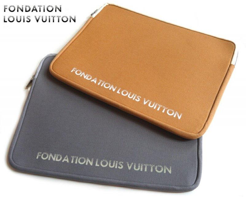 パリ限定!LOUIS VUITTON/ルイヴィトン美術館/ノートパソコン&タブレットケース 13インチラップトップケース/小物ポーチ/FONDATION LOUIS VUITT…