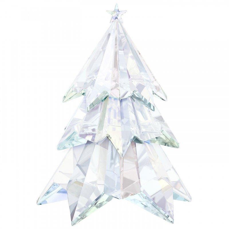 スワロフスキー(SWAROVSKI)クリスマスツリー クリスタルオブジェ/オーナメント/Crystal Aurora Boreale Christmas Tree Cryst…