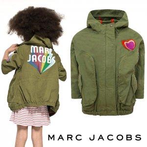 リトルマークジェイコブス(Little Marc Jacobs)アーミージャケット/パーカー/パッチーズブルゾン/キッズ用アウター<img class='new_mark_img2' src='https://img.shop-pro.jp/img/new/icons16.gif' style='border:none;display:inline;margin:0px;padding:0px;width:auto;' />
