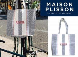 ラ・メゾン・プリソン(La Maison Plisson)トートバッグ/マルシェバッグ/エコバッグ/ビーチバッグ