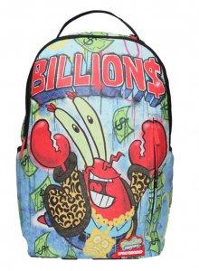 スプレーグラウンド(Sprayground)スポンジボブ カーニバーガー リュックサック/バックパック/Mr  Krabs Throwing Up BILLIONS